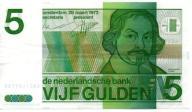 Holandia 5 Guldenów 1973 P-95a