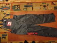 Spodnie robocze ogrodniczki BHP Pirat XL szelki