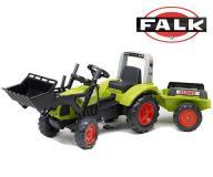 FALK Traktor CLAAS ARION 430 łyżka przyczepa 3-7l