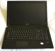 Laptop Lenovo B560 i3-380m 2,5GHz RAM4GB HDD 500GB