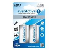2x AKUMULATORKI NI-MH EVERACTIVE C R14 3500mAh