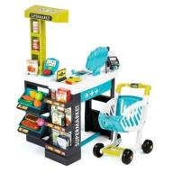 SMOBY CITY SHOP Supermarket + SKANER 350206