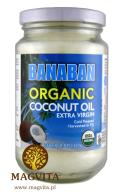 Olej kokosowy BANABAN ORGANIC Extra Virgin 350ml