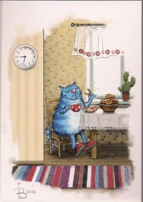 Niebieskie Koty śniadanie Bajka Zenyuk Rosja 6905621575