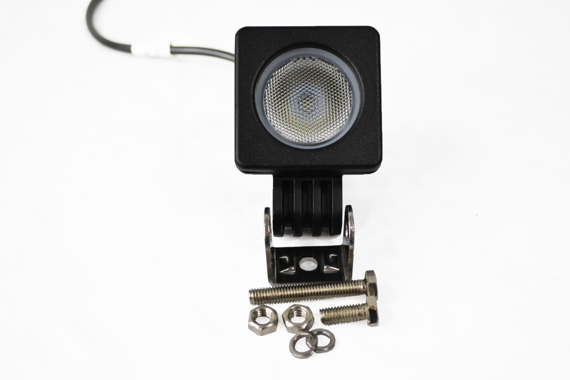 LAMPA ROBOCZA LED HALOGEN 10W 12V 24V MOCNA FLOOD