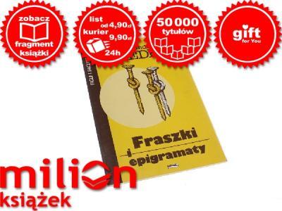 Aleksander Fredro Fraszki I Epigramaty 2624330665