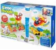 Fisher-Price Little People Lotnisko DGN30 MATTEL