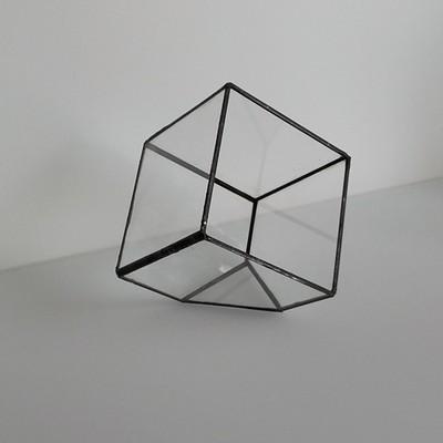 Doniczka Geometryczna Szklana Na Kaktusysukulenty