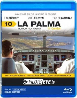 PilotsEYE.tv | Munich - LA PALMA || Blu-ray Disc |