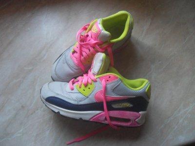 944d4b8da42b1 buty Nike Air Max neon 38 wkładka 24,5 cm - 6091371213 - oficjalne ...
