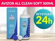 Płyn do soczewek AVIZOR ALL CLEAN SOFT 500 ml