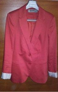 9600170c2a3c4 czerwona marynarka Stradivarius 36 S - 6565915718 - oficjalne ...