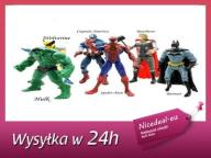 FIGURKA BATMAN IRON MAN HULK SPIDERMAN ZESTAW 6