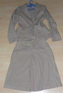 garsonka kostium RESERVED żakiet spódnica 38 M