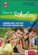PONS Słownik szkolny angielsko-polski polsko-angie