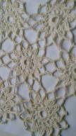dwie serwetki biala i lekki krem sred 21