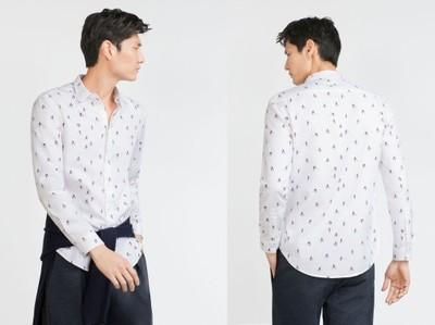 koszula z wzorem zara