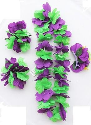 Kwiaty Hawajskie Girlandy Cały Zestaw 6723552794