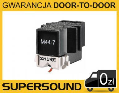 Shure M44-7 wkładka gramofonowa scratch Sklep WWA
