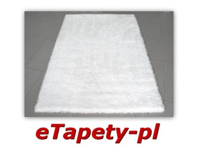 Modny Dywan 80 X 150 Cm śnieżno Biały Dywany Puffy