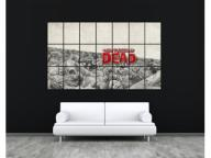 OBRAZ PLAKAT 130x210cm THE WALKING DEAD sezon gra