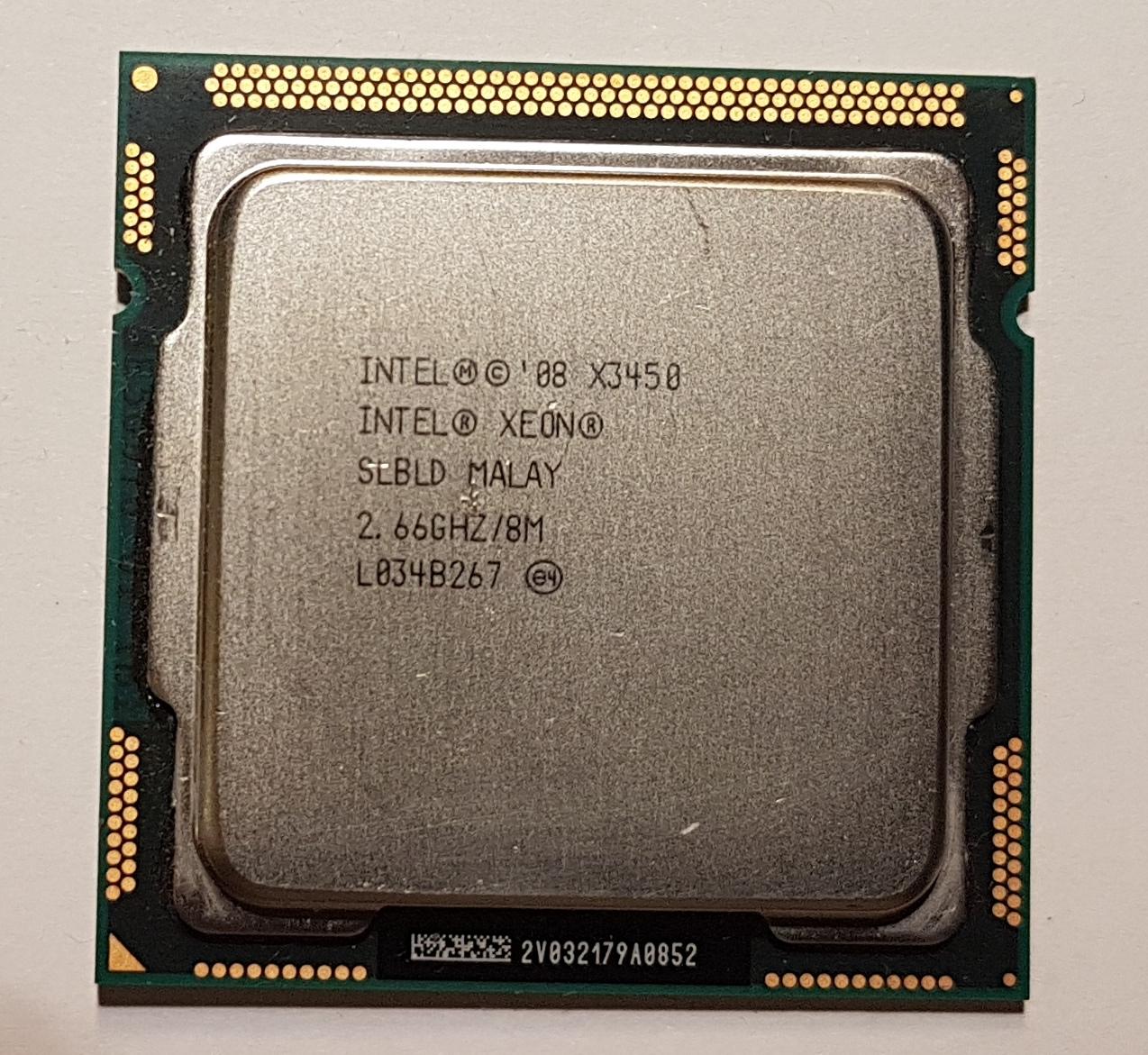 Intel Xeon X3450 s.1156