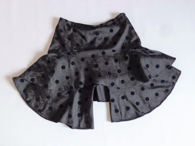 EMPORIO ARMANI UnikaT Spódnico-Spodnie w Grochy 40