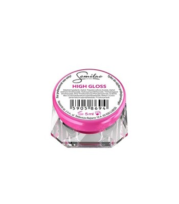 SEMILAC UV GEL HIGH GLOSS 5 ML