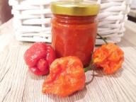 Sos Carolina Reaper chili mega ostry 50% HP22B !!!