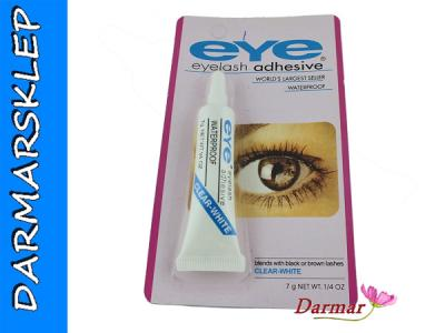 EYE ADHESIVE CLEAR DUO BEZBARWNY KLEJ DO RZĘS 184
