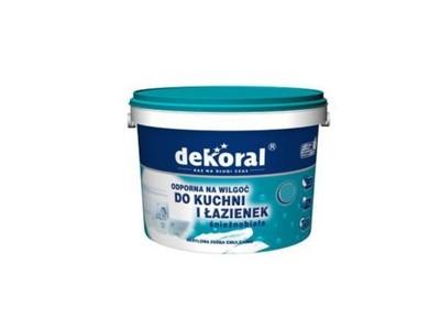 Dekoral Kuchnia łazienka Biała Akrylowa 5l Emulsja