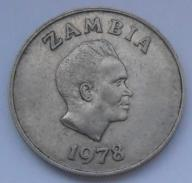 1978r. - Zambia - 10 Ngwee