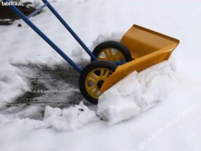 Plug Sniezny Reczny Odsniezarka Lopata Do Sniegu 5917558333 Oficjalne Archiwum Allegro