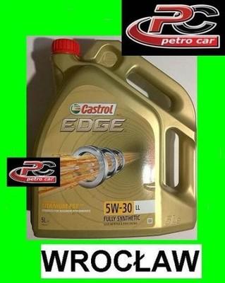 OLEJ Castrol Edge 5W30 LL 5L VW 507 00 WROCŁAW - 6573002179