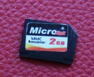 KARTA PAMIĘCI MMC mobile 2GB MULTIMEDIACARD
