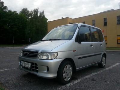 Daihatsu Move II 2000 r  1000 cm SREBRNA STRZAŁA