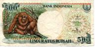 Indonezja 500 Rupii 1992 P-128a