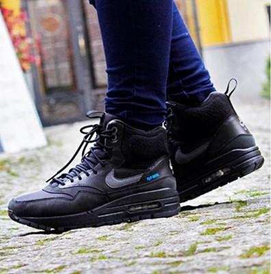 Nike buty WMNS Air Max 1 Sneakerboot black dark grey