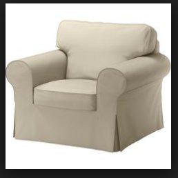 Fotel Rozkladany Ikea Ektorp Beż