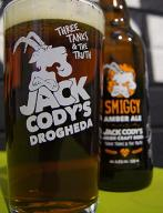 JACK CODY'S DROGHEDA szklanka PINT IRLANDIA