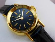 LONGINES_zegarek_damski LITE_ZŁOTO_18K__BLACK