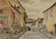 Józef Skrobiński: Fragment miasta