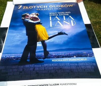 Plakat Kinowy La La Land Plakat Filmowy Wielki