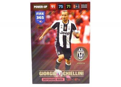 PANINI FIFA365 2017 DEFENSIVE ROCK Chiellini 355