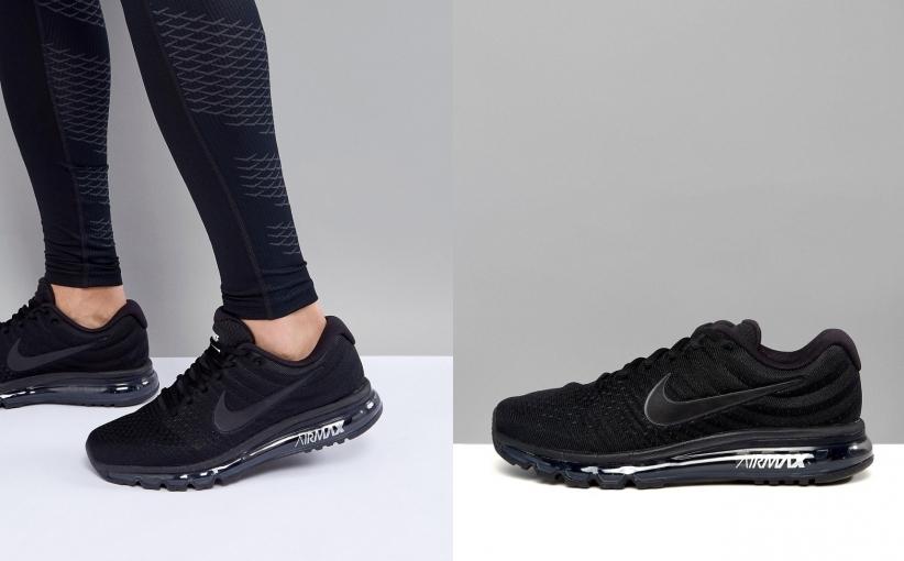buty na codzień cienie moda designerska 234F00109 NIKE RUNNING AIR MAX 2017 849559-004 45