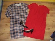 Mega zestaw sukienki jeansy modne roz. 44 buty
