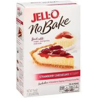 Ciasto na sernik Jell-o Strawberry 555g z USA