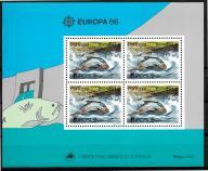 [RY79 ] Fauna, ryby, CEPT  Blok.** Portugalia