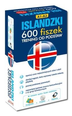 Islandzki 600 fiszek Trening od podstaw + CD HIT