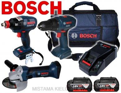 BOSCH GSR1800-LI GDX18V-EC GWS18-125V-LI 2x4,0Ah